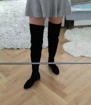 Total neue Leder-Overknee-Stiefel!!!