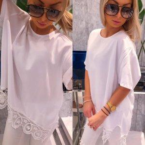 Oversized blouse wit