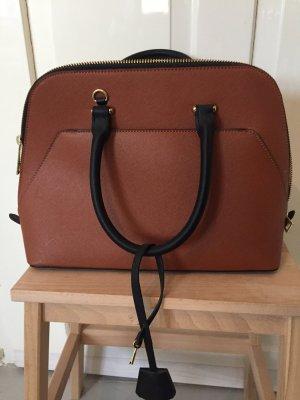 Zara Carry Bag cognac-coloured-black