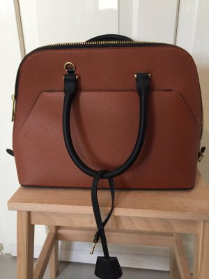 Zara Carry Bag cognac-coloured-black