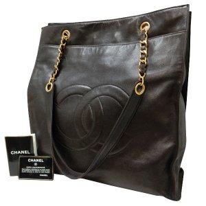 Chanel Bolso marrón Cuero
