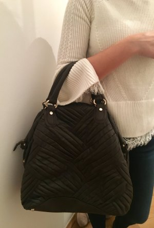 Zara Tote dark brown