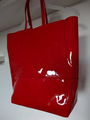 Joop! Tote red leather