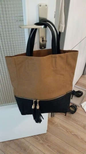 tote bag shopper bommeln hallhuber