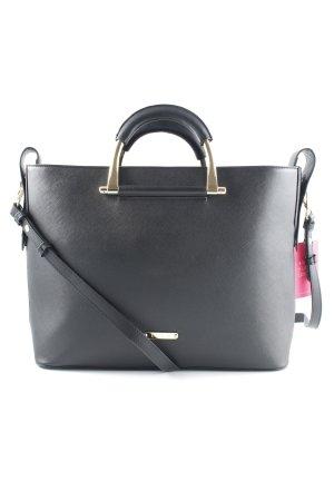 Tote black simple style