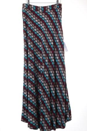 Totem Maxirock abstraktes Muster 70ies-Stil