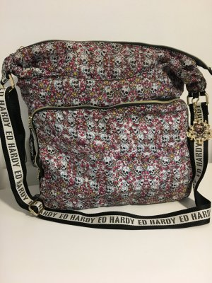 Ed Hardy Pouch Bag pink