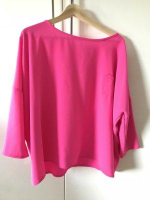 Toupy Oversized blouse roze Polyester