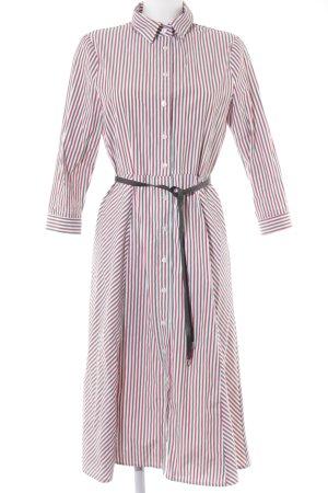 Toupy Hemdblusenkleid Streifenmuster Street-Fashion-Look