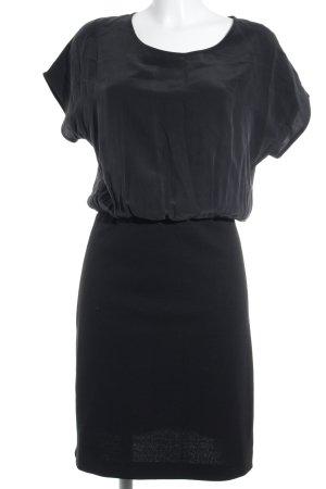 Toupy Shirtkleid schwarz Casual-Look