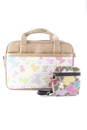 Tous Handtasche Camouflagemuster Casual-Look