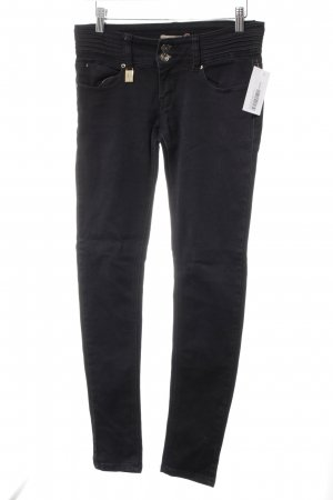 Toxik3 Skinny Jeans schwarz Street-Fashion-Look