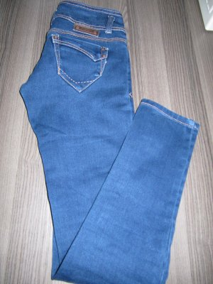Toxik3 - Stretch-Jeans - Low Waist - dunkelblau - Sexy