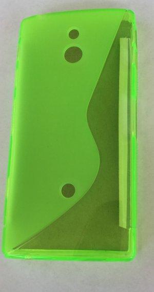 TPU Case *Sony Xperia P* Grün