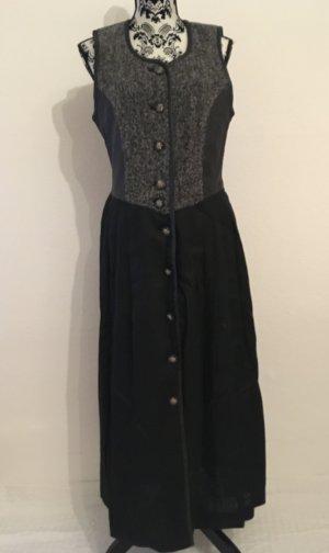 Tracht * Kleid * schwar-grau * 38 * Disler Original