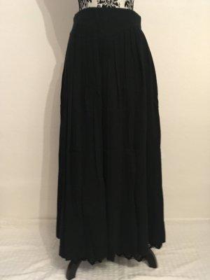 Folkloristische rok zwart