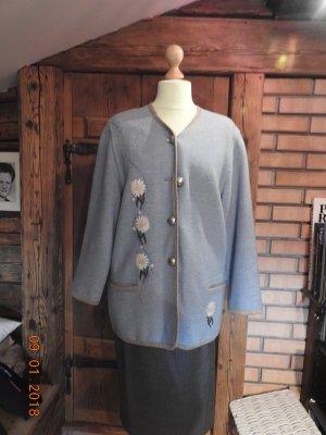Stapf Giacca tradizionale azzurro Lana