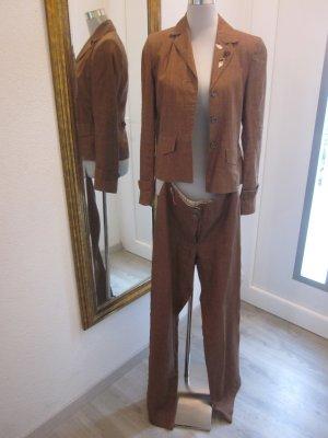 Trachten Anzug Leinen Gr 36 Braun #Giesswein