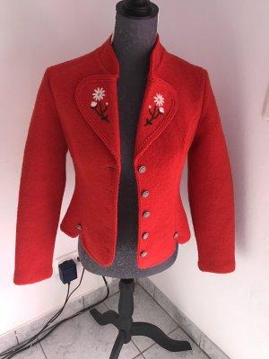 Folkloristische jas rood