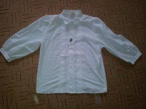 Trachten Bluse weiß Rüschen Gr. 44 NEU