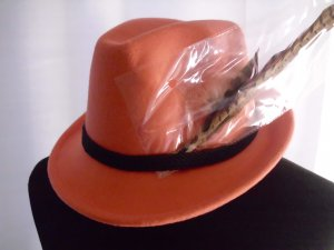 Traditional Hat pink wool