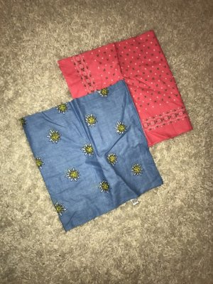 Traditional Scarf pink-azure