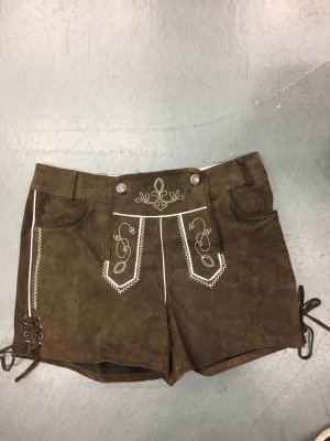 Traditional Leather Trousers light brown-brown