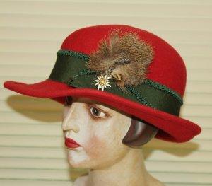 Chapeau bavarois multicolore