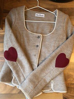 Trachten Jacke, 100 % Merino Wolle