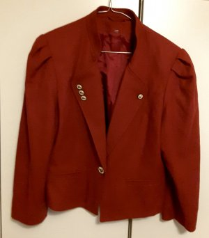 Jessica Howard Traditional Jacket dark red wool