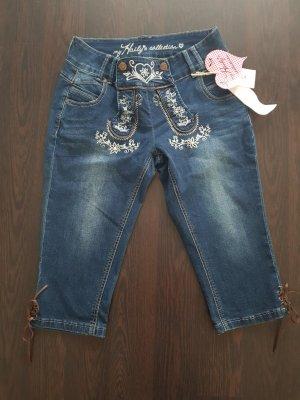 Trachten Jeans 3/4 Gr. 38