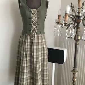 Trachten Kostüm Weste Rock Kleid Gr 34 36 S Landhaus