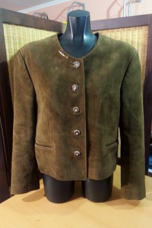 Traditional Jacket ocher leather