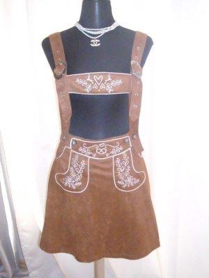 Traditional Skirt brown mixture fibre