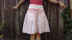 BlendShe Flared Skirt multicolored cotton