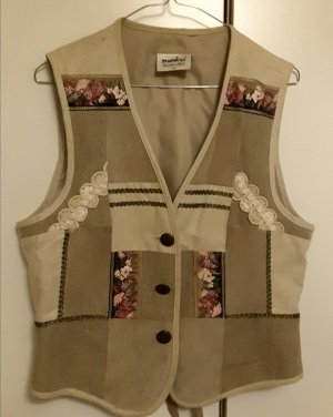 Meico Traditional Vest multicolored linen
