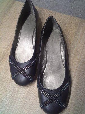 Slingback Ballerinas slate-gray