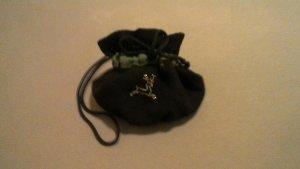 Folkloristische tas zwart-bos Groen Katoen