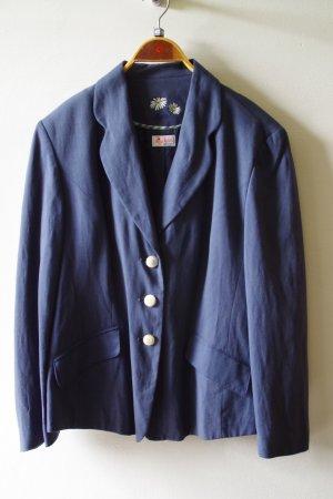 Giacca tradizionale blu scuro Lino
