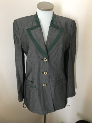 Traditional Jacket anthracite-forest green