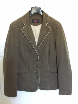 Steinbock Tirol Denim Blazer grey brown