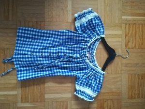 Fuchs Trachtenmoden Traditional Blouse blue