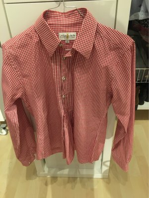 Almsach Traditional Blouse white-red