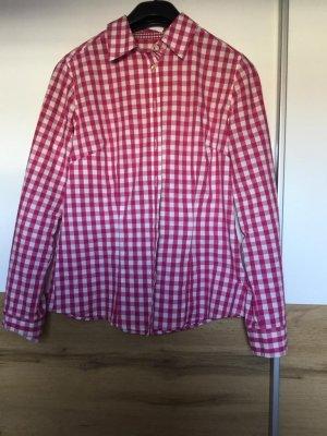 Almsach Camicia blusa magenta-bianco