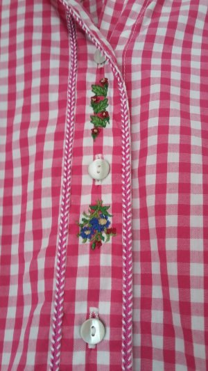 OS Trachten Folkloristische blouse roze-roze