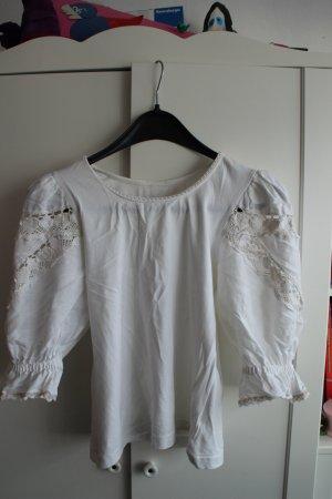 Maglione tradizionale crema-bianco sporco Cotone
