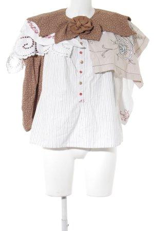 Folkloristische blouse Patroon-mengeling Patchwork-look