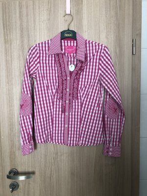 Trachtenbluse Pink