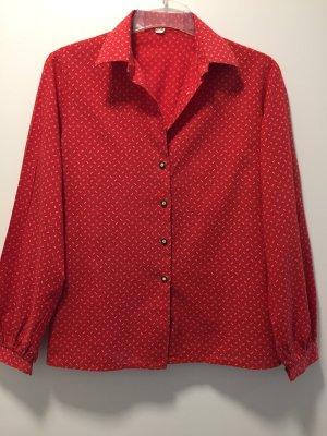 Folkloristische blouse rood