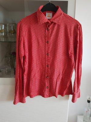 Blusa tradizionale rosso